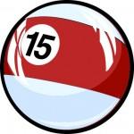 fifteen-pool-ball