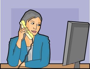 phone-woman-at-work
