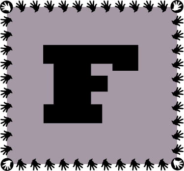 letter-f-black-and-gray