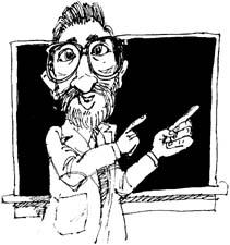 looking like a professor