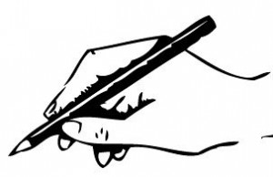 line-drawing-hand-writing