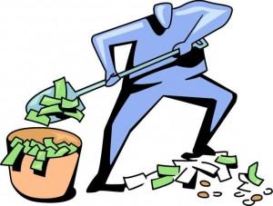 shoveling-money