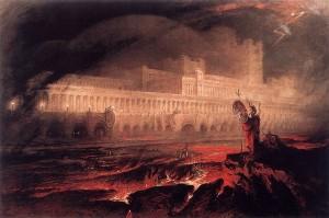 John_Martin_-_Pandemonium_1841 Paradise Lost WC pd