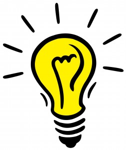light bulb idea from beginanadventure blogspot
