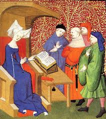 Christine de Pizan instructing men