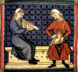 Zummara_Medieval dueling musicians WC pd