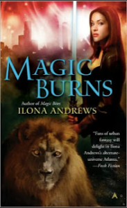 Ilona Andrews Magic Burns cover
