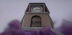 clock tower from Once Upon a Time image from podcast of same name